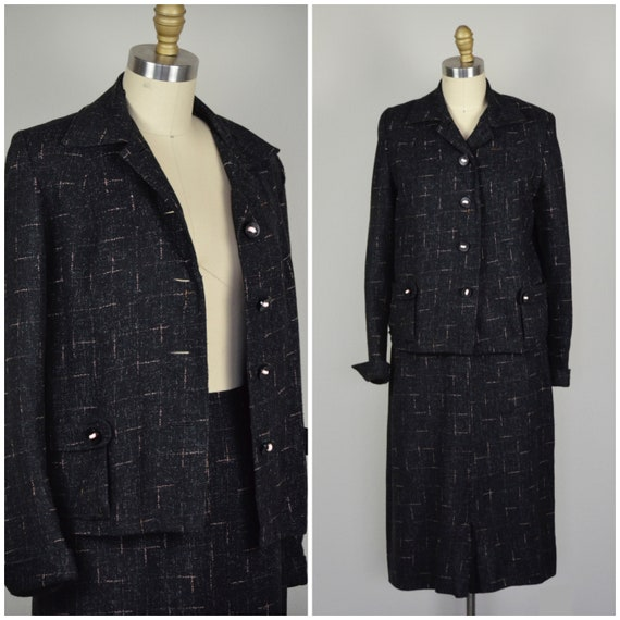 1950s Suit | Unique 50s Rockabilly Suit Made from
