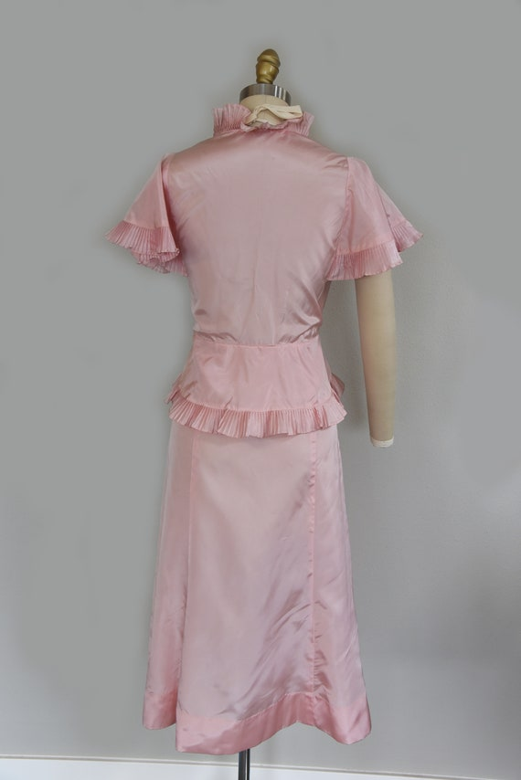 1930s Dress | Precious 1930s Acetate Pink Dress w… - image 8