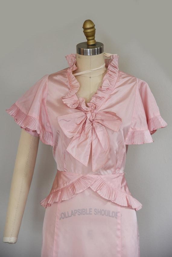 1930s Dress | Precious 1930s Acetate Pink Dress w… - image 3
