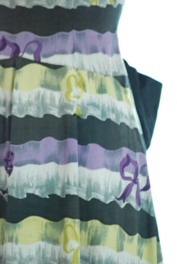SALE - 1940s Dress | 1940s Evening Dress with Bea… - image 3