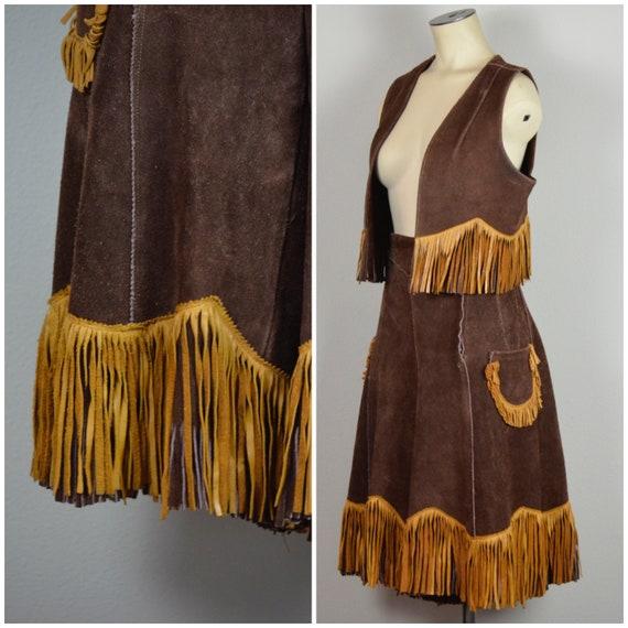 1950s Western wear | Wonderful 50s Leather Fringe