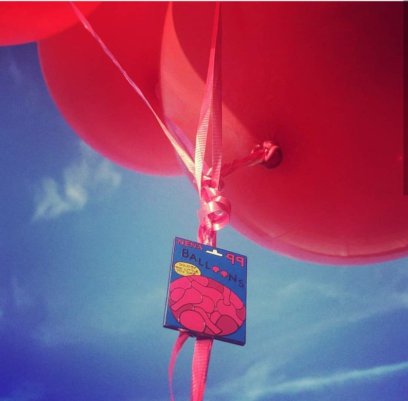 99 Red Balloons Luft Pin