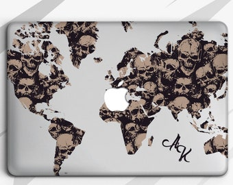 Laptop Hard Shell Case Magic Books Skull Wax Candle Flame MacBook Pro Shell Hard Shell Mac Air 11//13 Pro 13//15//16 with Notebook Sleeve Bag for MacBook 2008-2020 Version