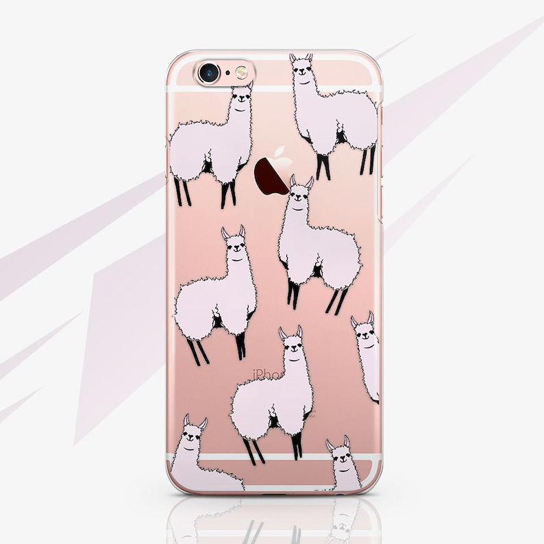 100% authentic 6735f 0938b Llama iPhone 8 Case iPhone X Case Animal iPhone 8 Plus Case iPhone 7 Plus  Case Lama iPhone 6s Plus Case Samsung Note 8 Case iPhone 5S RA1563