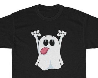 82e201aad Ghost Halloween Unisex Cute TShirt Shirt Tee For Men For Women Shirts Funny  Casper Joke TShirt Kawaii Tshirt Gift For Him For He
