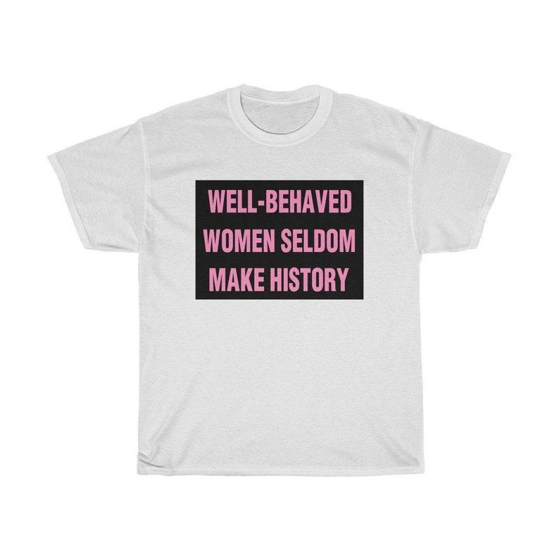 95a5e6c998 Feminist T-shirt Shirt Tee For Women Feminism Shirts Tshirt | Etsy