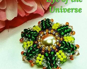 Eye of the Universe Beaded Bead written Tutorial by Judah's Jewels