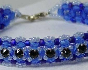 Crossing Paths 'Single' Cuff Bracelet by Judah's Jewels