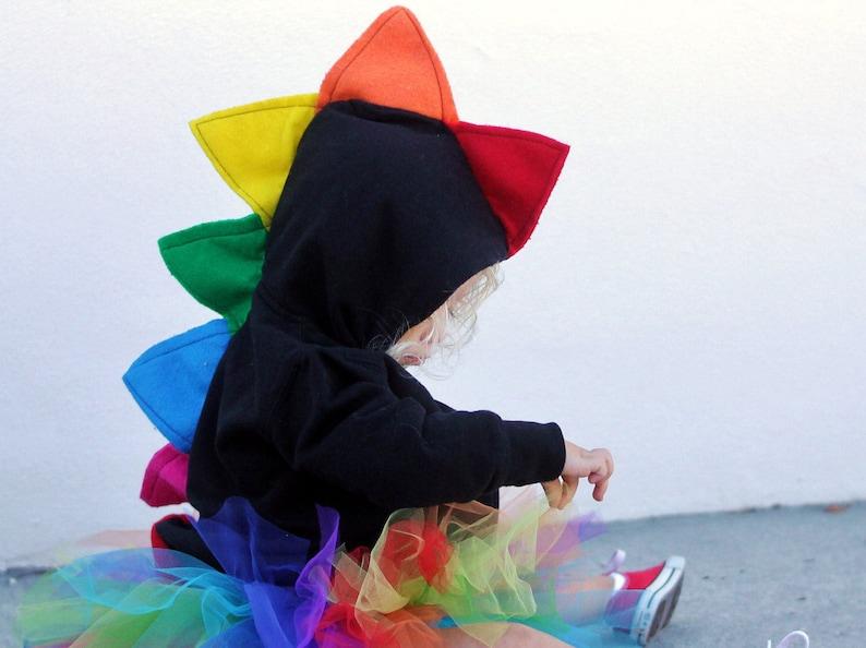 Dinosaur spike hoodie   kids Christmas gift   baby dino  96961baac8c0