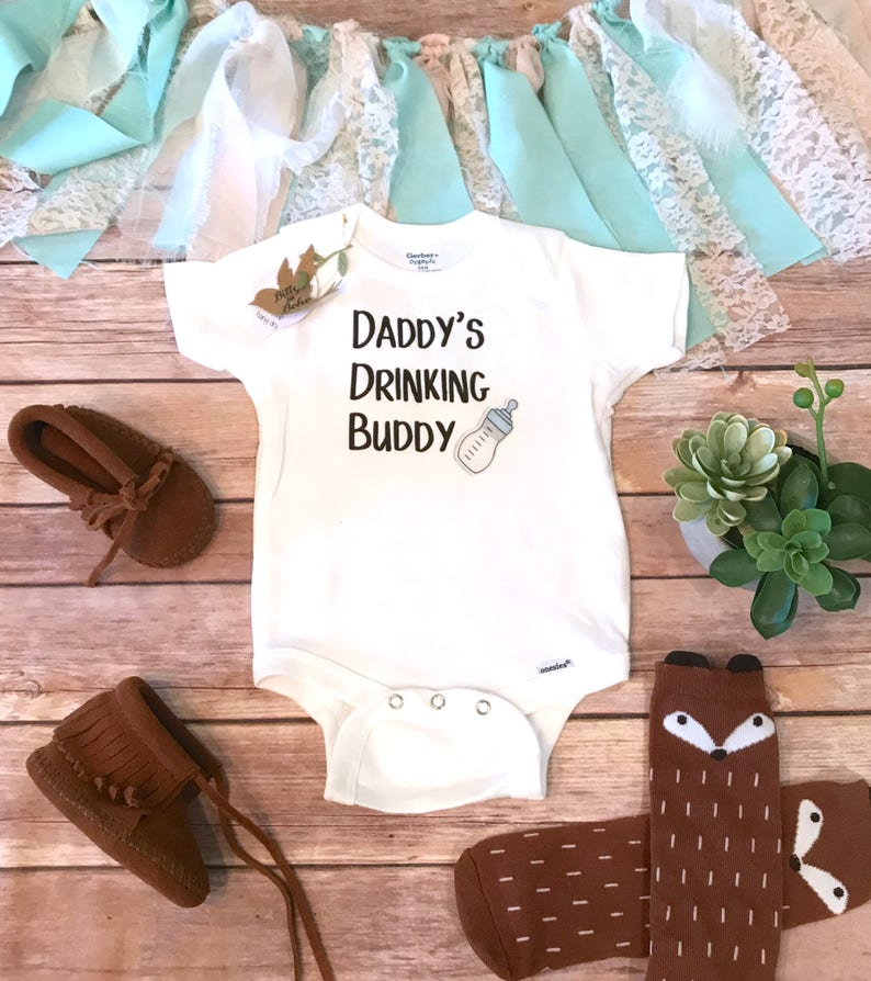 4c38ab441 Daddy Onesie® Fathers Day Gift From Baby Cute Baby Clothes   Etsy