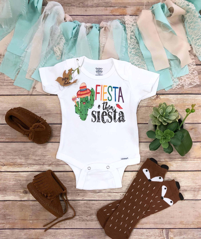 43cae5df2 Fiesta Onesie® Cactus Onesie Funny Onesies Unisex Baby