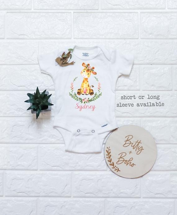 Baby Onesie Giraffe Baby Shower Gift You Bet Giraffe Funny Baby Onesie Animal Baby Onesie Cute Baby Gift