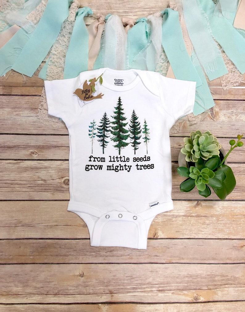 cf0b0c6e2bcb From Little Seeds Grow Mighty Trees Onesie® Adventure Onesie