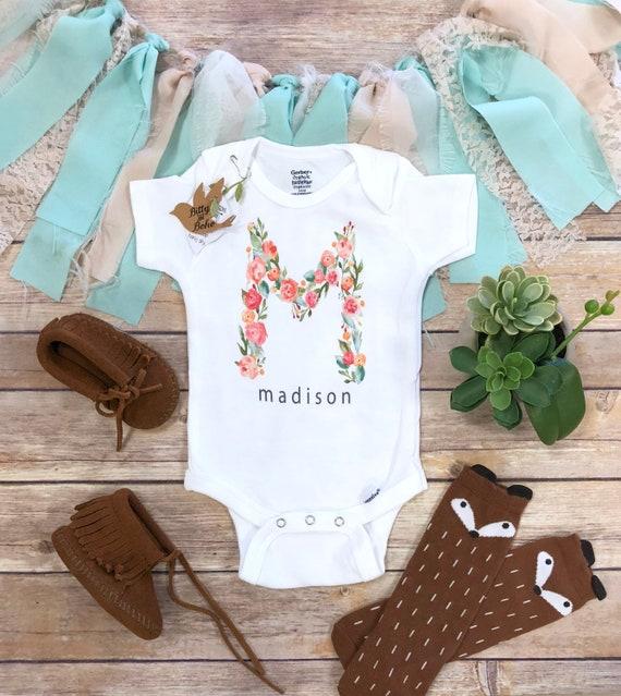 Custom Baby Onesie® Custom Onesie Personalized Baby Gift   Etsy 25b69d590a