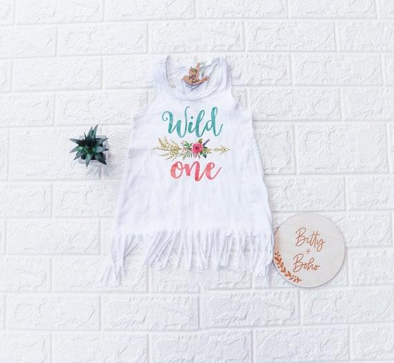 Lace Trim A-Line First Birthday Dress Wild One Outfit Wild One Dress Birthday Girl Birthday Dress First Birthday One Birthday Dress