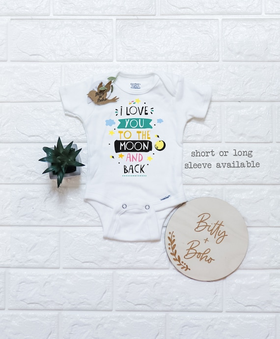 Here Comes The Sun Gerber Short or Long Sleeve Unisex Bodysuit Newborn Outfits Shower Gift Ideas Boho Baby Clothes Onesie