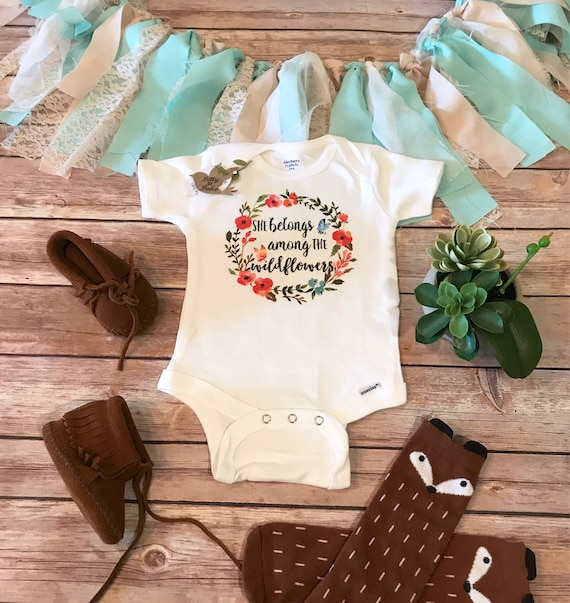 9a1aeaa9bd8 Boho Baby Clothes Cute Onesies® Baby Girl Clothes Baby