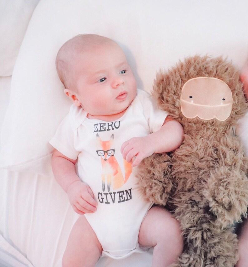 82aec4f32 Zero Fox Given Onesie® Baby Shower Gift Hipster Baby Boho   Etsy