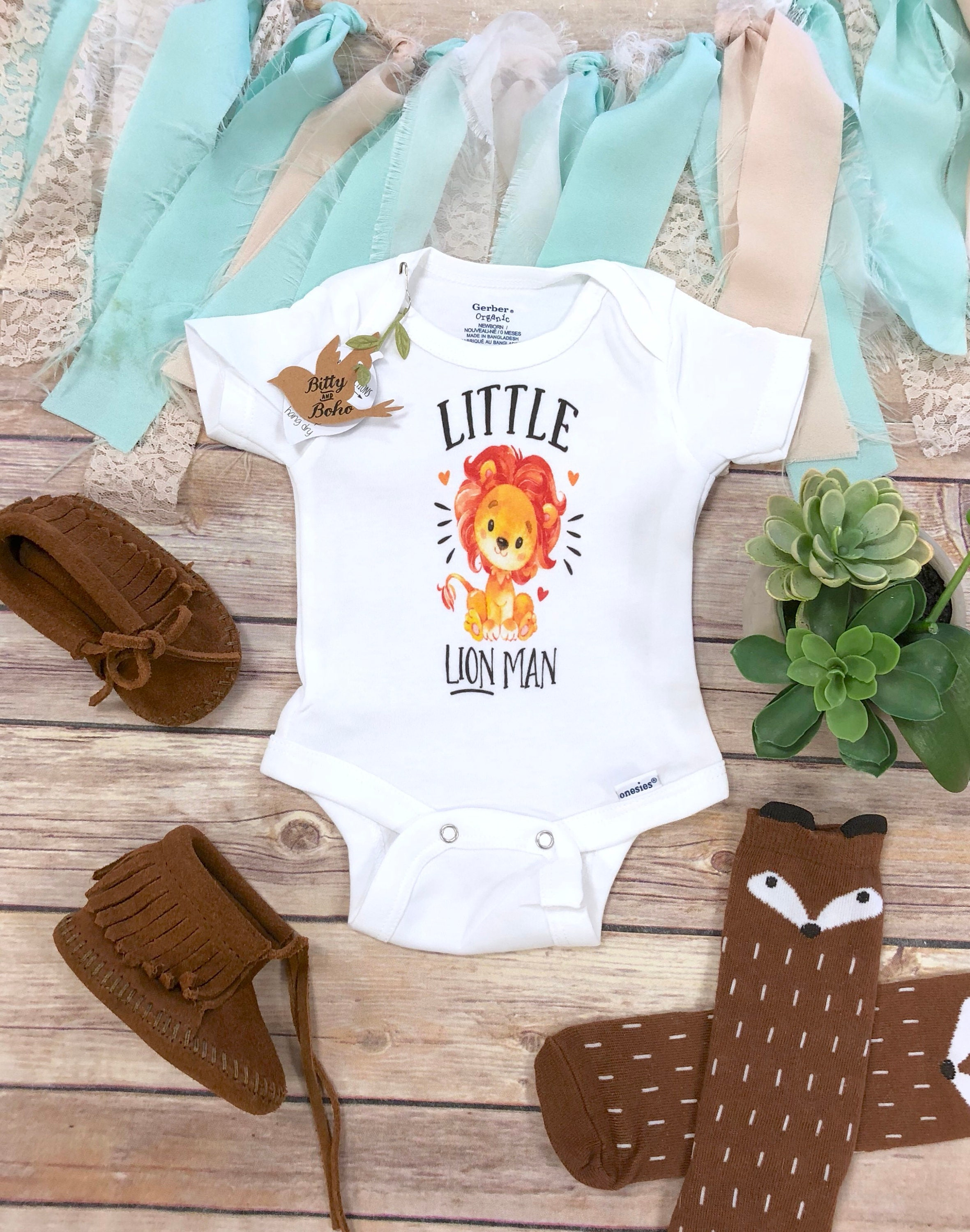 Lion Onesie Baby Boy Clothes Hipster Baby Clothes Baby Etsy