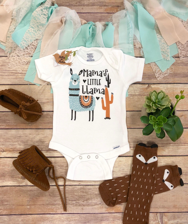 5b617e726 Llama Onesie® Farm Onesie Mama s Little Llama Shirt