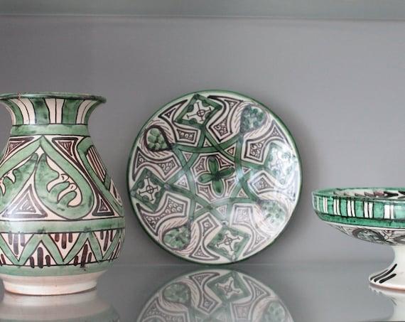 3 céramiques vintage de Domingo Punter en terre cuite émaillée, VS160423