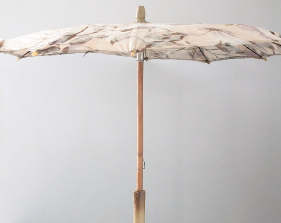 Old French children's umbrella, antique toy, children's umbrella, shabby chic bedroom décor, JOUET181630