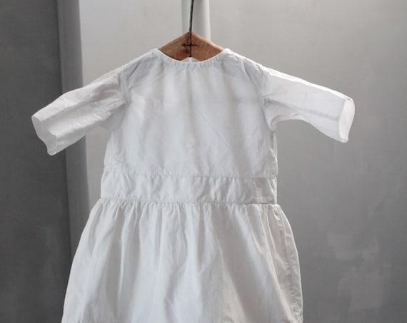Robe ancienne blanche pour fillette, robe de cérémonie, robe enfant mariage, robe de baptême, Mariage blanc, ENF181481
