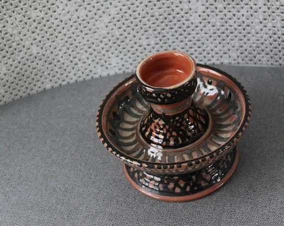 Unique vintage ceramic from Michel DELMOTTE / 60s 70s / glazed ceramic art / collection Ceramic / ceramic French art / CERA160430