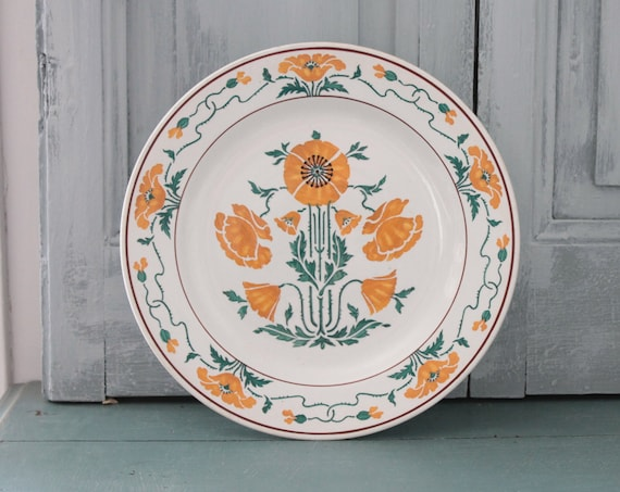 Ancient dish, pedevat plate, fruit dish, ceramic tray, flower dish, AST191854