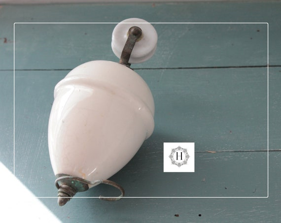 Counterweight up and down, weight of suspension porcelain, supply for luminaire, old suspension, LM191766