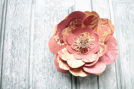 Giant paper flower for wedding, ceremony or home decor, floral wall decor, FLEUR171307