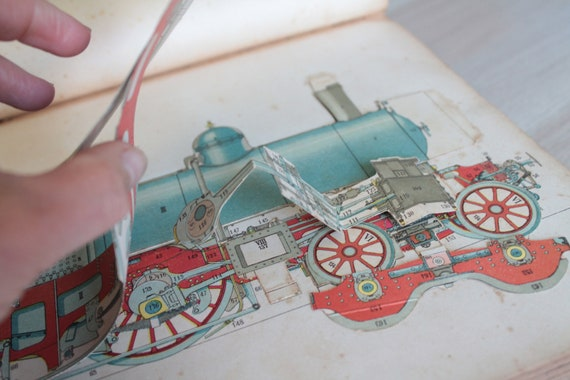 The Modern Mechanic, Ancient French Book on Locomotives