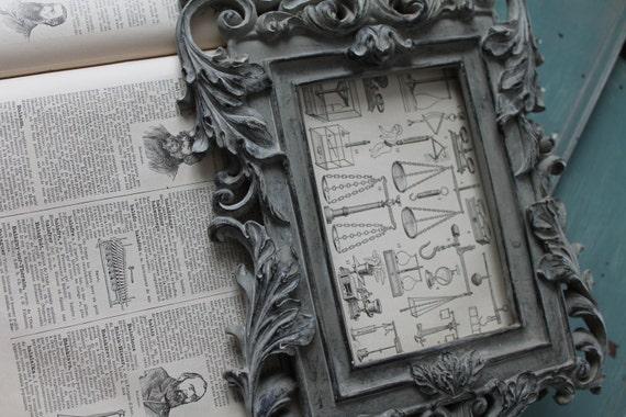 Illustration La Balance provenant d'un Larousse ancien 1925 - Page Larousse 20X29 cm /Affiche ancienne - La Balance