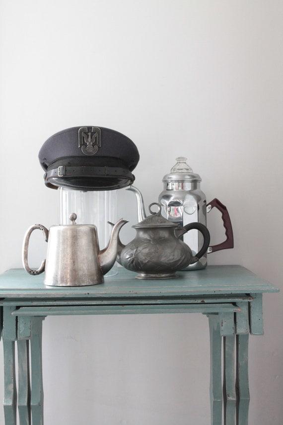 Vintage English EPNS Silver Teapot, Hard Soldered Sheffield, Vintage Coffee Maker, Silver Metal Item, THE181565