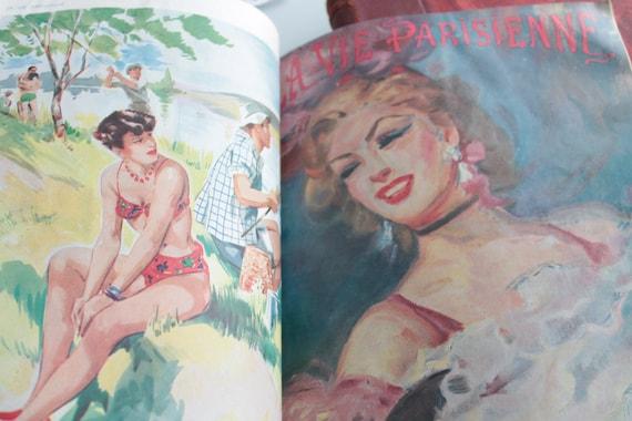 Album la vie Parisien, French magazine, nude illustration, old erotic magazine, old fashion magazine, LIV191743