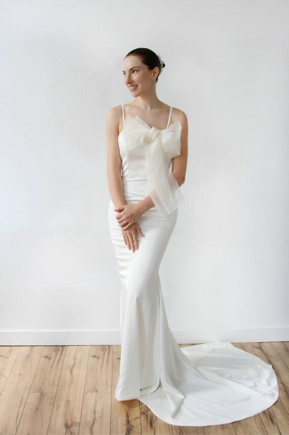 Silk Mermaid Wedding Dress