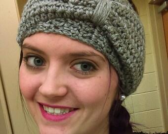 Crochet Bow Headband Ear Warmer