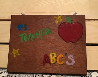 Teacher Gifts, Teacher, Plaque,