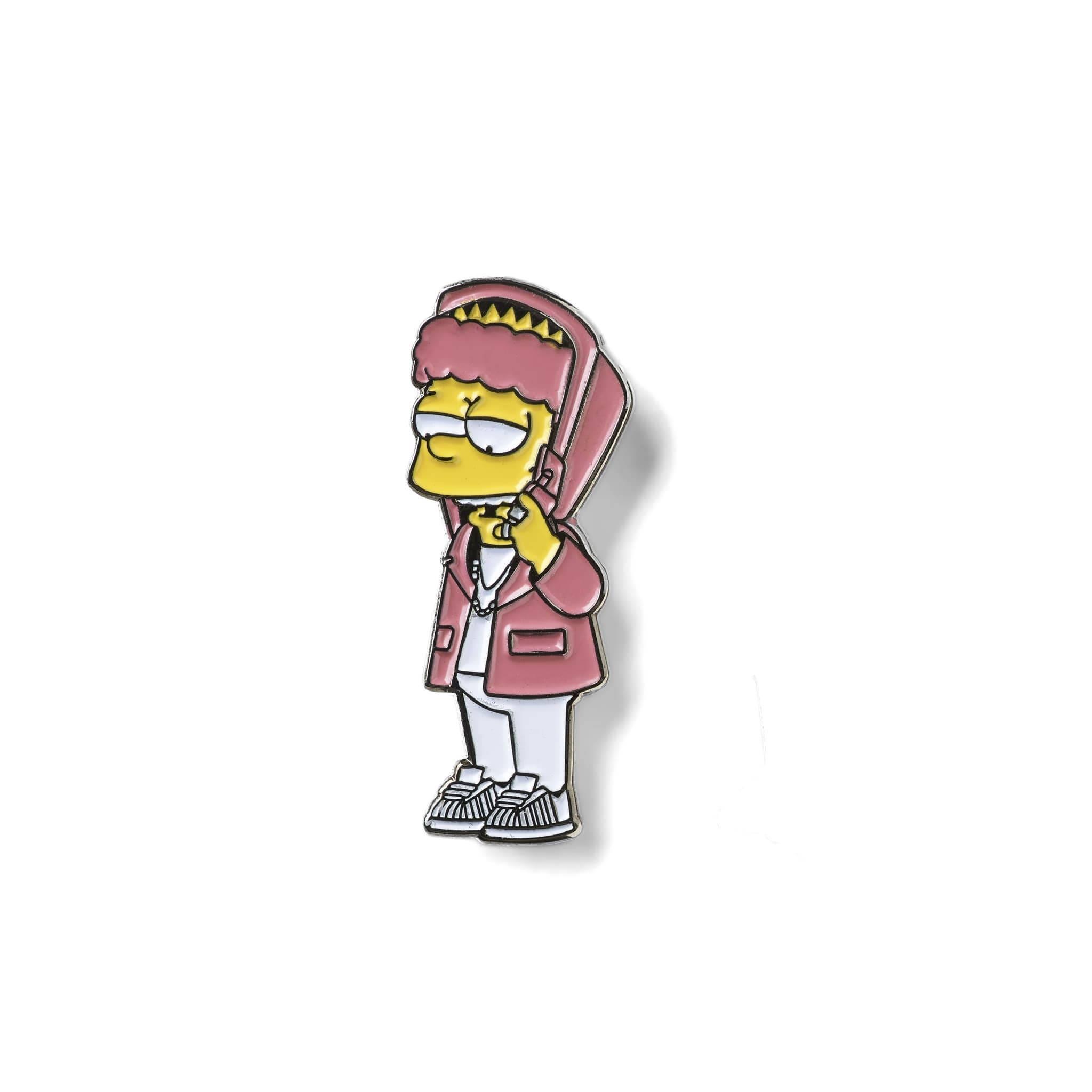 Bartron Lapel Pin Soft Enamel Simpson Camon
