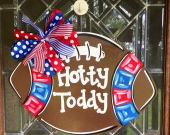 Ole Miss football door hanger Hotty Toddy football door hanger Ole Miss Rebels