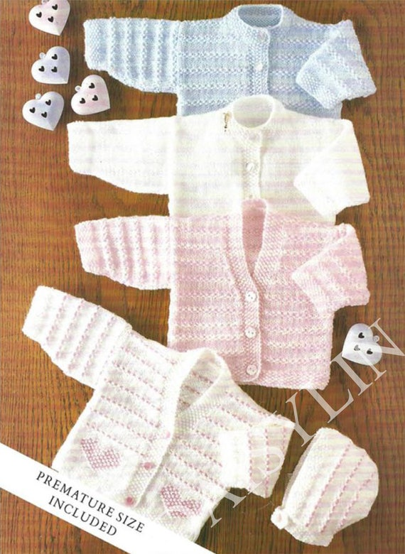 Pdf Instant Digital Download Premature Baby Doll Lacy Jacket