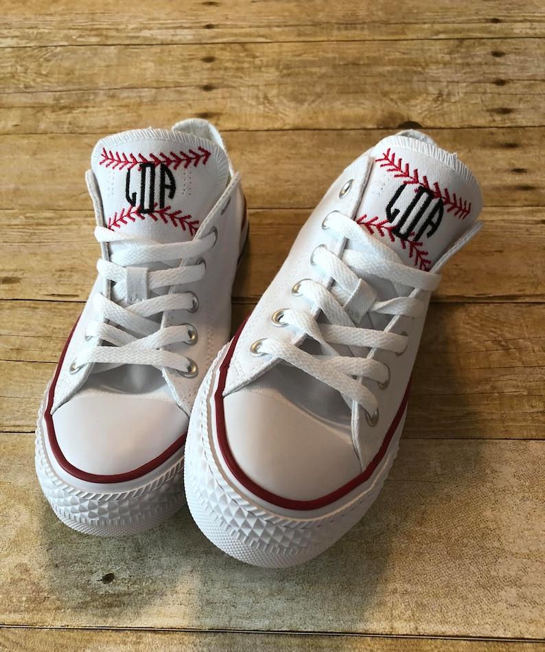 24cda01112408b Baseball Shoes   Softball Shoes   Custom Converse   Monogram