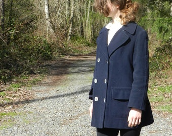 The Writer- A 1960s Vintage Coat with Lots of Stories by Frederick and Nelson Young Moderns- XS/ S