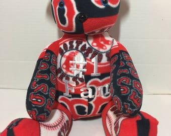 Boston Red Sox 23 Inch Custom Teddy Bear