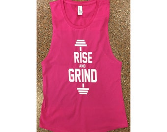 Rise and Grind Workout Tank