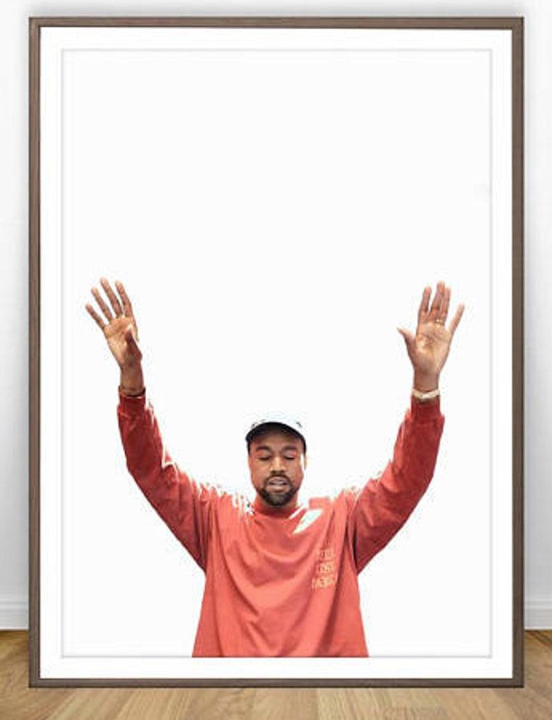 84edeb6675fdc Kanye West Print * Kanye West Poster Kanye Poster Kanye West Pablo Kanye  West Art Yeezy Poster Yeezus Kanye West Wall Art Kanye Print
