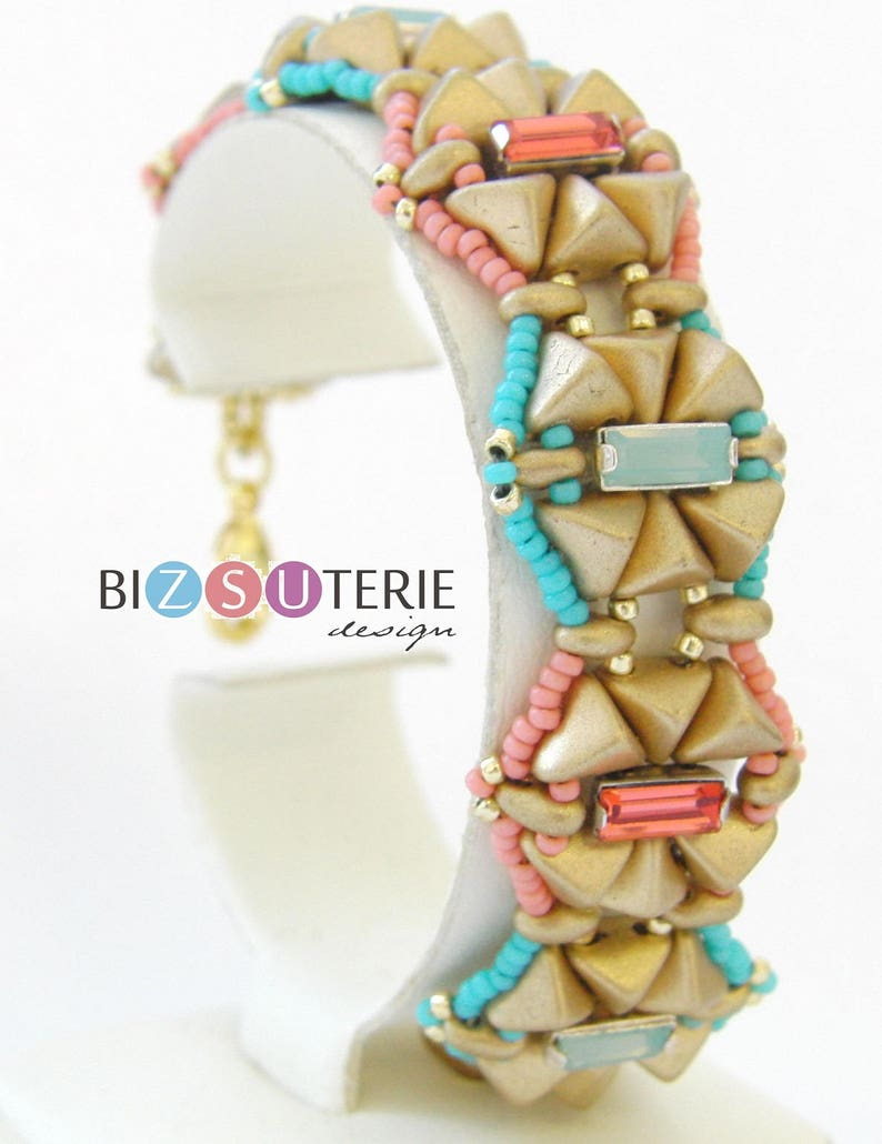 Baily bracelet  instant download beading patternwith image 0