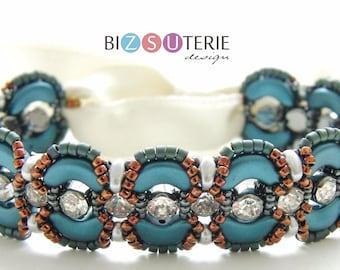 Belle bracelet - instant download beading pattern