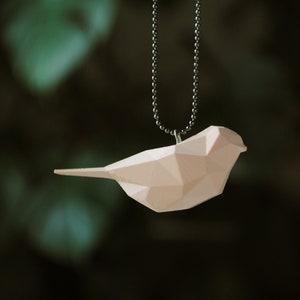 Snowbird 3D Printed Necklace
