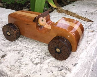Wooden Toy Car #3